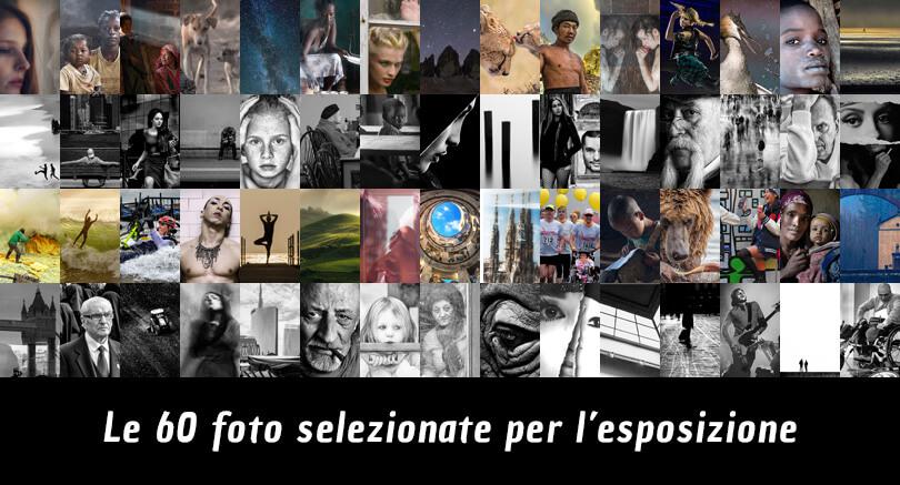 Le 60 fotografie selezionate per l'esposizione