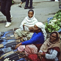 Bhutan 1992 - Thimphu mercato