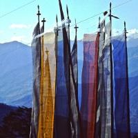 Bhutan 1992 - Thimphu preghiere